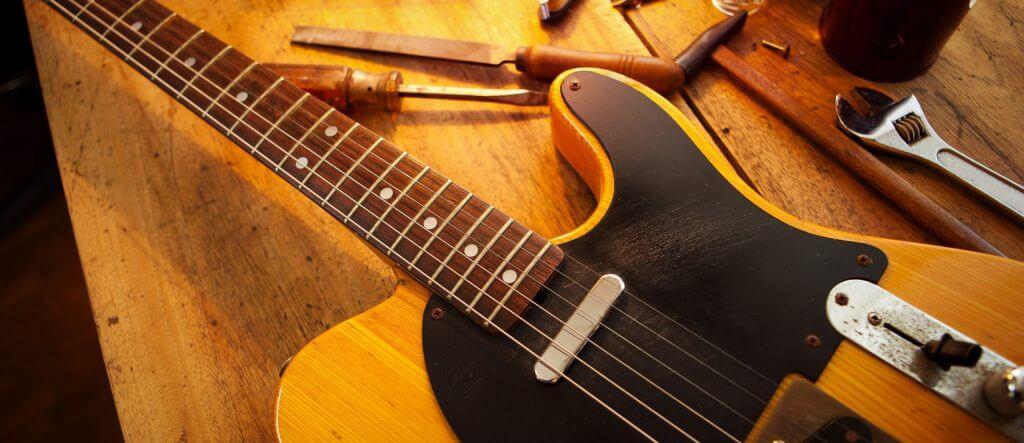 Trabajamos Fender, gibson y otras marcas de guitarras en Madrid, Aranjuez y Toledo